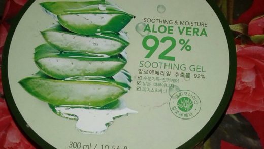 Review NATURE REPUBLIC Aloe Vera 92% Soothing Gel