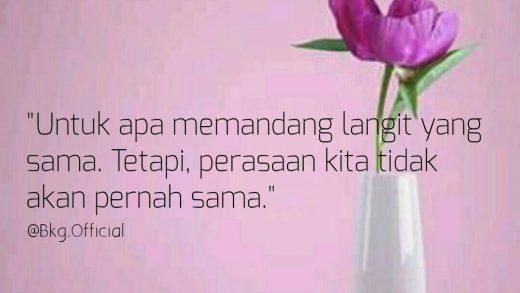 Cinta Bertepuk Sebelah Tangan, Move On Sekarang!