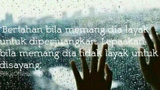 Lebih Baik Lepaskan Bila Bertahan Menyakitkan Hati